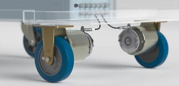 elektrisches Antriebssystem zur Aufrüstung von Transportgeräten