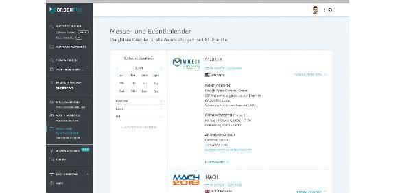 """Der neue """"Messe- und Eventkalender"""" von Orderfox"""