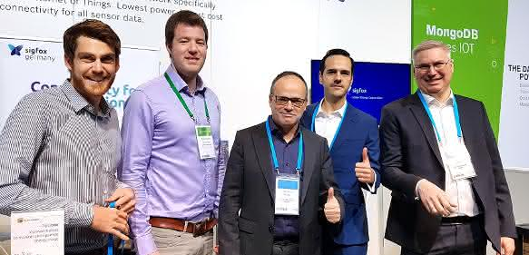 Das Sigfox Team auf der Bosch Connected World