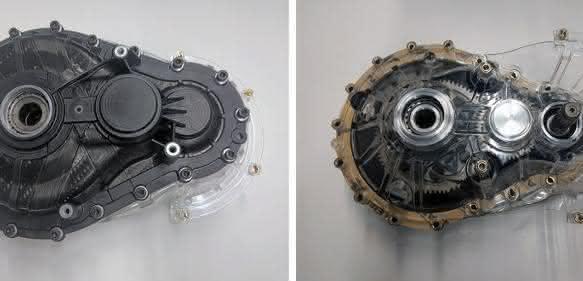 Getriebegehäuse aus Kunststoff