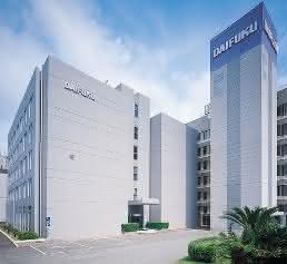 Das Headquarter von Daifuku in Osaka
