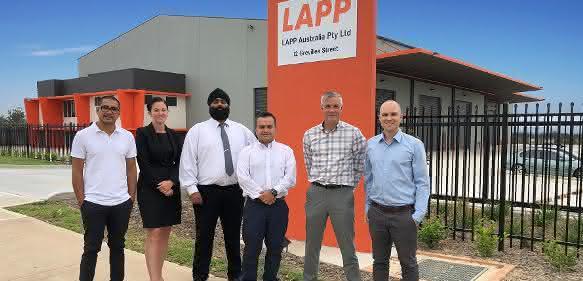 Der Hauptsitz von Lapp in Australien in Eastern Creek, Sydney