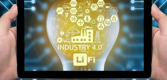 Li-Fi für drahtlose Kommunikation im Industrieumfeld
