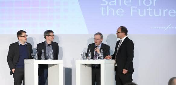 Safe for the Future – hochkarätige Diskussionsrunde