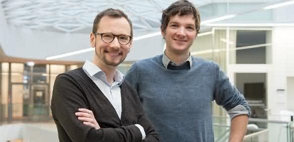 Acus-Firmengründer Martin Denzel (links) und Moritz Horn