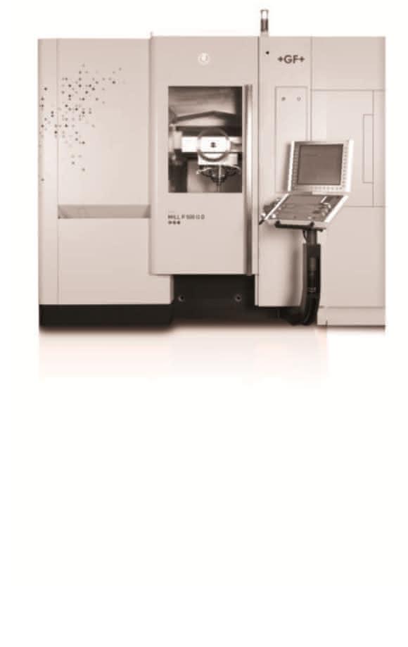 Mikron Mill P 500 U