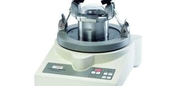 Vibrations-Mikromühle Pulverisete 0: Mahlen und Sieben in Einem
