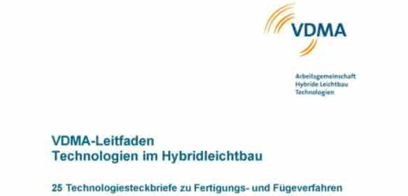 Leitfaden des VDMA zu Leichtbautechnologien