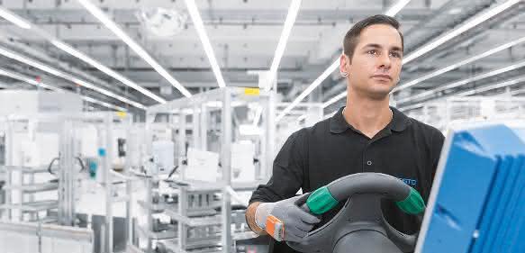 Intelligenter Scanner-Handschuh