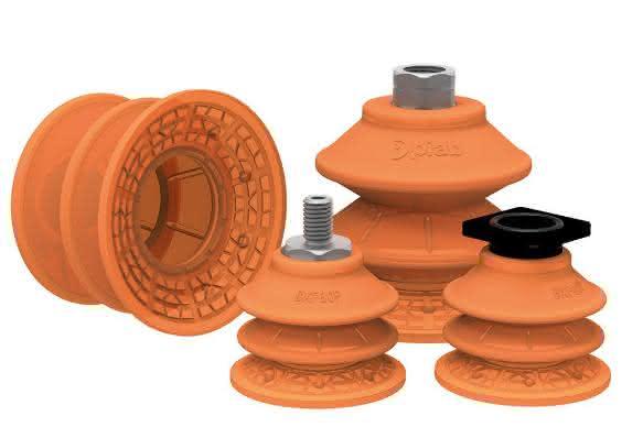Die Saugnäpfe der Serie BXF