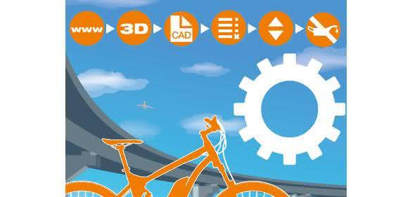 Igus 3D-Druck E-Bike