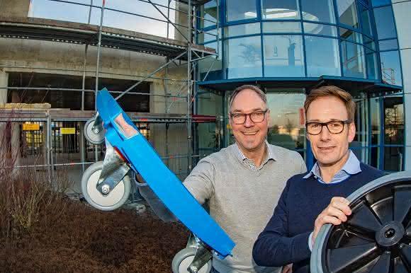 Torwegge-Geschäftsführer Uwe Eschment und Uwe Schildheuer