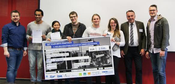 WZL Hackathon Gewinner