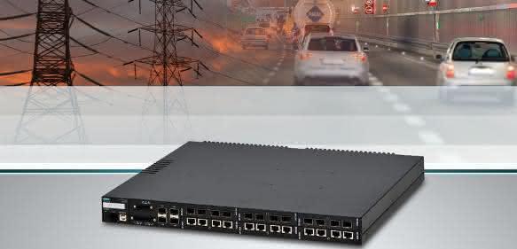Vernetzung: Ethernet Switch mit hoher Portdichte