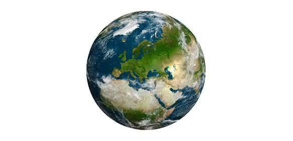 Bild der Erde