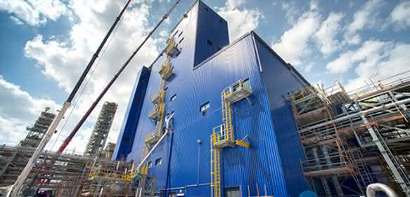 Sabic hat seine neue Polypropylen-Extrusionslinie in den Niederlanden in Betrieb genommen. (Bild: Sabic)