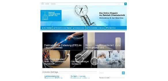 Online-Magazin für Labor- und Chemietechnik