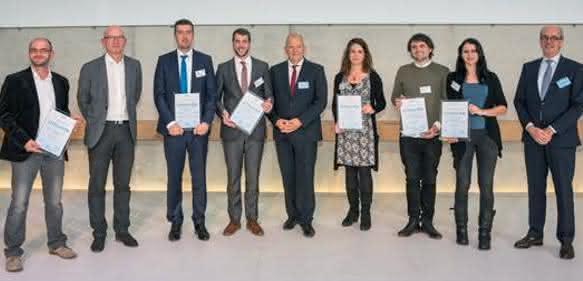Preisträger des FSK-Innovationspreises Polyurethane 2017