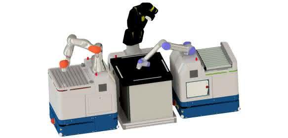 Baer-Contrax Mobile Robot