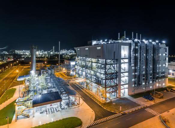 Die neue Großanlage für die Produktion von Chemiekatalysatoren in Caojing/China