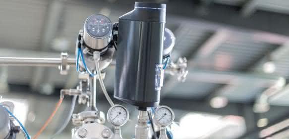 Dampfregelung in CIP-Anlage
