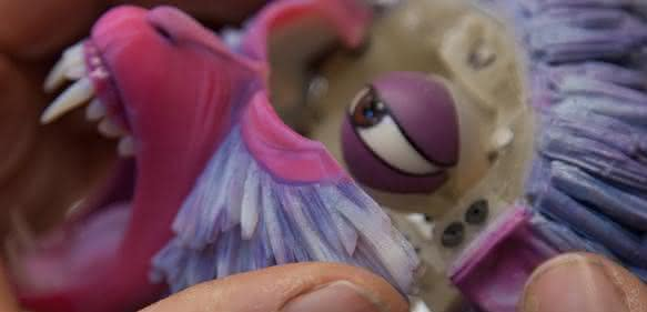 """""""Monkey"""" aus dem Stop-Motion-Film """"Kubo – Der tapfere Samurai"""""""