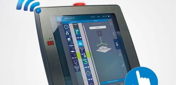 Wireless Bedienpanel mit Multitouch
