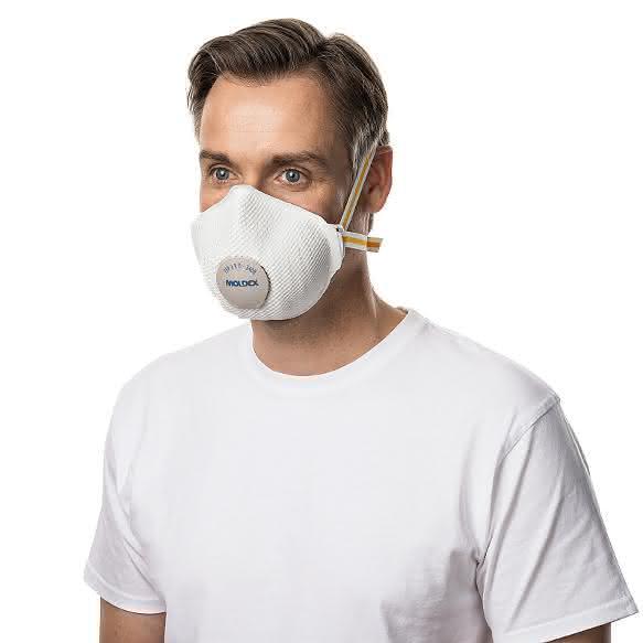 Atemschutz: Maske mit verbessertem Tragekomfort