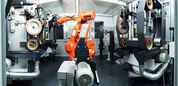 SHL-Robotergestuetzte Anlage