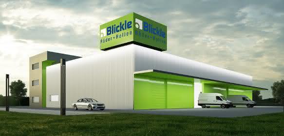 Blickle-Geschäftsgebäude im österreichischen Grödig