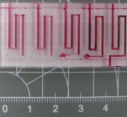 Fließlängen bei unterschiedlichen Konturen