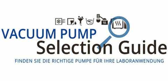 "Das Online-Tool ""Vacuum Pump Selection Guide"""