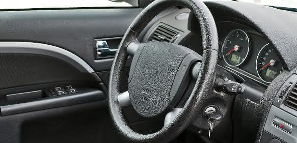 Innenausstattung eines Autos