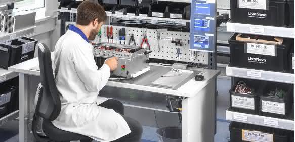 Avero-Arbeitsplatzsystem von Bott