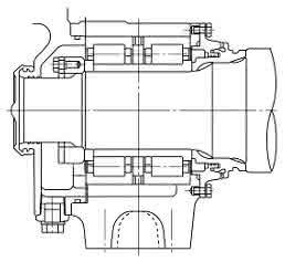 NSK-Zylinderrollenlager mit Rippen