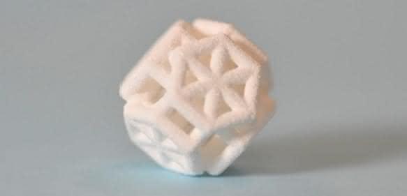 Komplexe additive hergestellte Designs von JM und Voxeljet