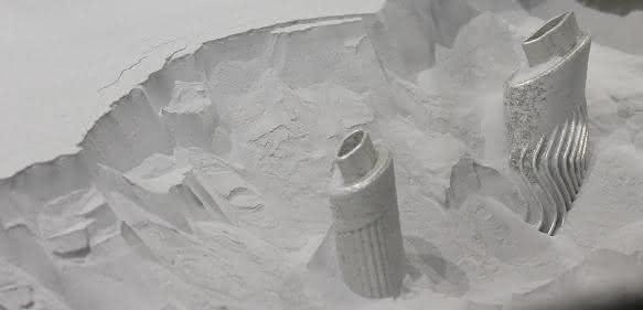 pulverbettbasiertes Laserschmelzen