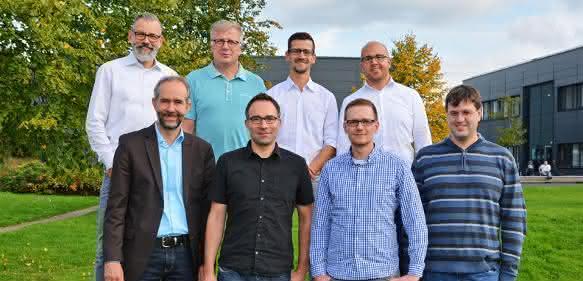 Das Forschungsteam der mit seinen Mitgliedern der EVTAS GmbH, des Wupperverbandes, der 52°North GmbH, des TÜV Rheinland und der Hochschule Bochum.