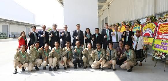 Eröffnung in Bekasi/Jakarta