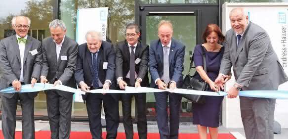 Einweihung des neuen Vertriebsgebäudes in Belgien
