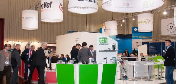 Rotek-SPS-Messestand