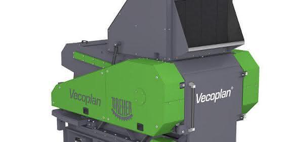 Schredder-Schneidmühlenkombination