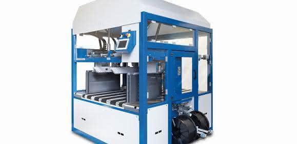 Querumreifungsmaschine für Wellpappprodukte