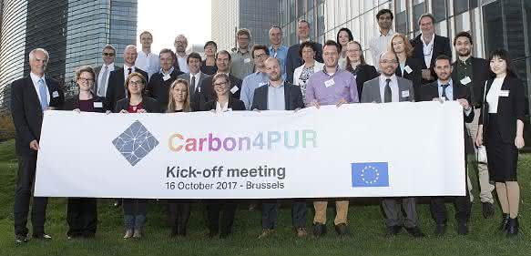 Klimagas Kohlendioxid als Rohstoff: Europäisches Forschungsprojekt Carbon4PUR gestartet