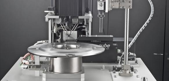 Pocket-Delta-Roboter zu einem Zuführsystem kombiniert