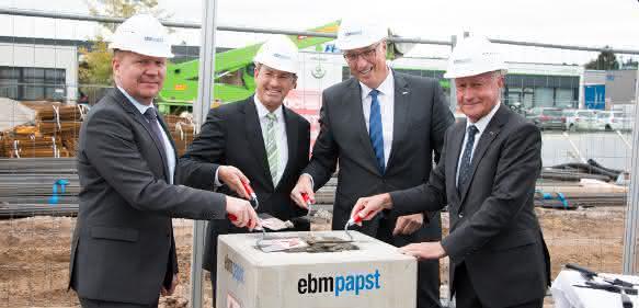ebm-papst-Grundstein