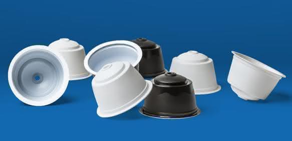 Kaffeepulver-Portionskapseln