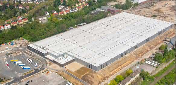 Jungheinrich Opel-Warenverteilzentrum Bochum