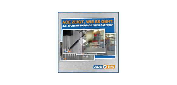 Anzeige - Highlight der Woche: ACETips - Richtige Montage einer Gasfeder