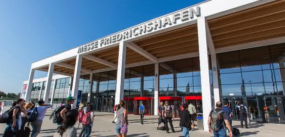 Mit Rekordwerten bei den Ausstellerzahlen hofft Veranstalter Schallauch auf entsprechende Besucherresonanz. (Bild: Messe Friedrichshafen)
